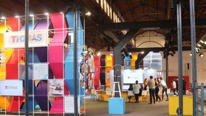 El stand de TICMAS en la Feria del Libro