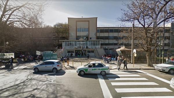 El Hospital San Martín, en La Plata (Google Street View)