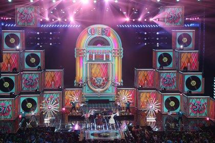Club 57 durante los Kids' Choice Awards (Foto: Juan Vicente Manrique/Infobae México)
