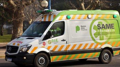 Las ambulancias del SAME tienen mucho trabajo en la pandemia