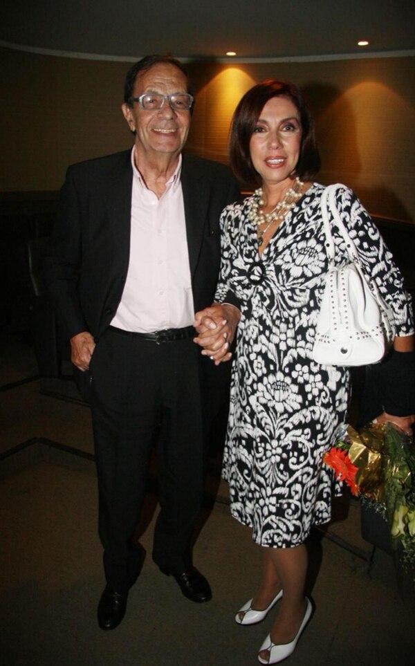 Junto a Nora Cárpena llevaban juntos más de medio siglo de vida (Crédito de Foto: Verónica Guerman/Teleshow)