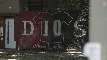 Pese al poco tiempo que permaneció en el club, Maradona es considerado ídolo en Newell's (Lihueel Althabe)