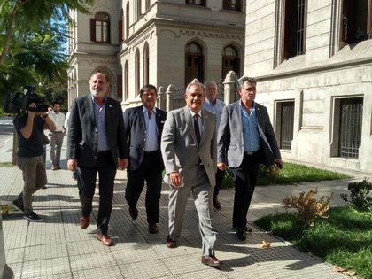 Los dirigentes de la Mesa de Enlace reclamaron una solución del conflicto en los puertos