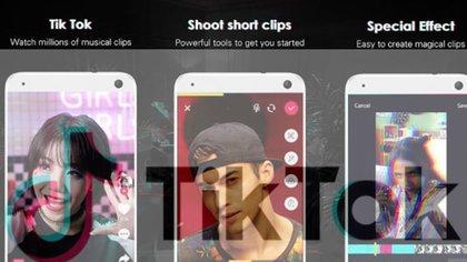 TikTokes la app de videos del momento, con 800 millones de usuarios. (Reuters)