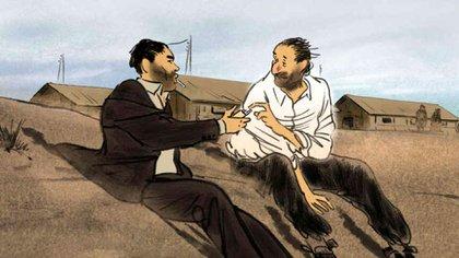 """Imagen de la película """"Josep"""", de Aurel."""