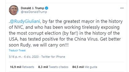 El tipo de Donald Trump