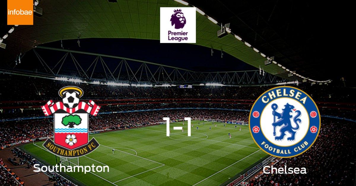 Southampton y Chelsea reparten los puntos tras empatar a uno - Infobae