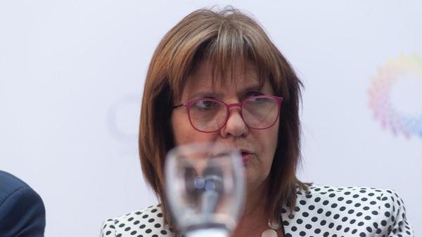 La ministra Patricia Bullrich (Patricio Murphy)