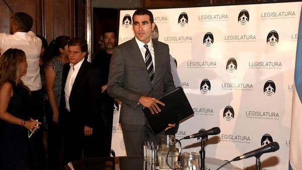 El abogado Diego Pirota