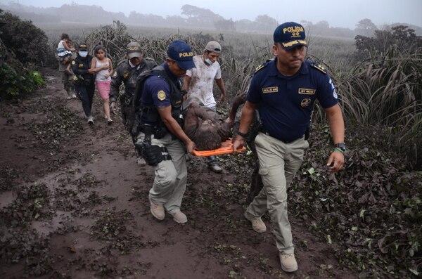 Cientos de personas murieron tras la erupción del Volcán de Fuego(AFP)