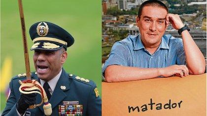 Comandante del Ejército respondió sobre los mensajes que envió al caricaturista Matador