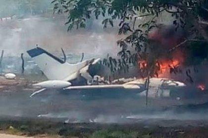 La aeronave tipo Cessna, según el plan de vuelo, despegó a las 14:00 horas de Camargo, Chihuahua, para llegar a su destino en Guasave, en el estado de Sinaloa (Foto: Twitter@JudithMedrano)