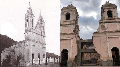 San Nicolás de Ambil, en La Rioja, sucumbió a terremotos