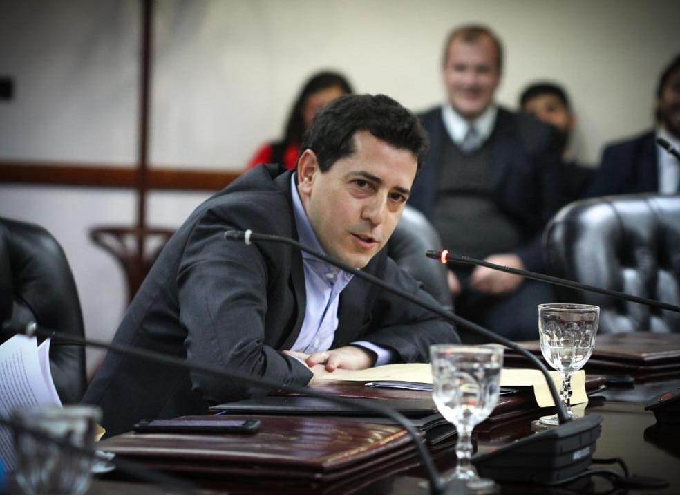 "El consejero kirchnerista Eduardo ""Wado"" De Pedro (Consejo de la Magistratura)"
