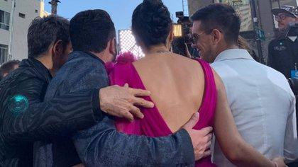 Eugenio Derbez y su familia invadieron los Latin American Music Awards (Foto: Instagram)