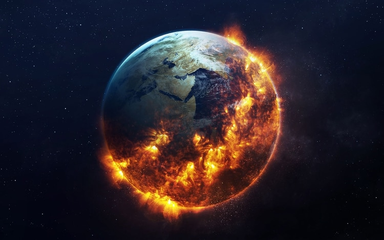 La temperatura del planeta no para de aumentar. El 2019 fue el segundo año más caluroso en la historia registrada del planeta Tierra (Shutterstock)