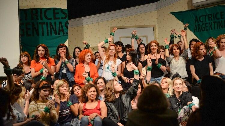 Las actrices argentinas que acompañaron a Thelma Fardín en su denuncia pública contra Darthés