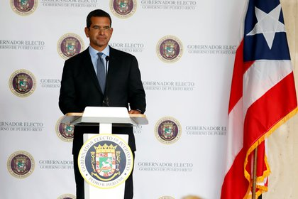 El gobernador de Puerto Rico Pedro Pierluisi. EFE/Thais Llorca/Archivo