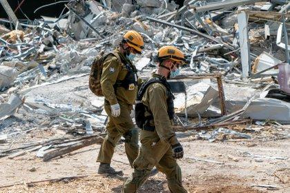 La unidad de rescate de las FDI sigue adelante con sus entrenamientos de formación, pese al coronavirus