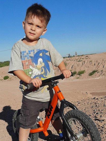 Santi Galdeano había acudido a un circuito de motocross junto a su padre y un hermano