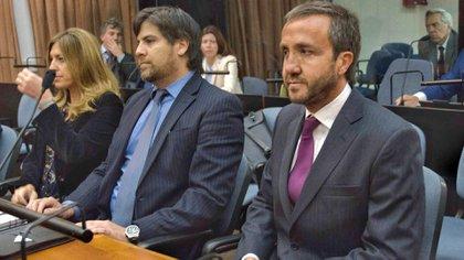 Alejandro Vandenbroele en el juicio (Télam)