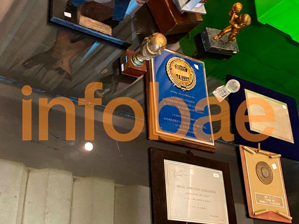 Museo de Diego por el que pelearon Maradona y Claudia