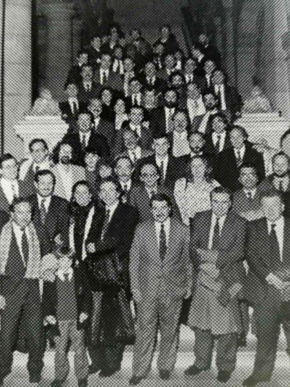 Reunión por los 25 años egresados del Colegio Nacional Buenos Aires en1991