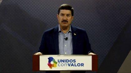 El gobernador Javier Corral señaló que Chihuahua es el estado que más empresas fantasma ha reportado a la Federación (Foto: Captura de pantalla)