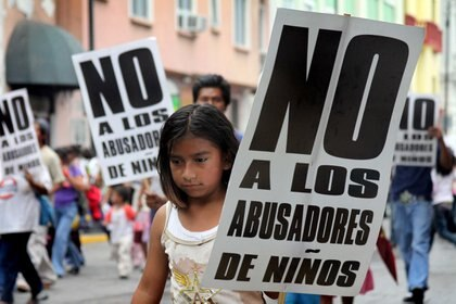 Child abuse in Colombia has cases such as the alleged pedophile who tried to evade the questions of a media journalist / PHOTO: F ?? LIX MçRQUEZ / CUARTOSCURO.COM