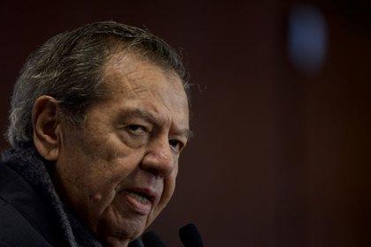 Porfirio Muñoz Ledo es el miembro de Morena más crítico a la 4T (Foto: Cuartoscuro)