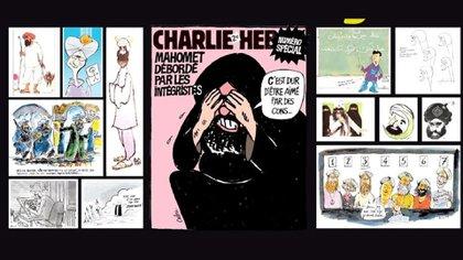 Los dibujos del profeta fueron publicados nuevamente