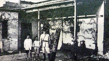 Casa de los hermanos Di Grado en Corral de Bustos REDACCION LC (Rosario - Argentina - Tags: Suplementos)