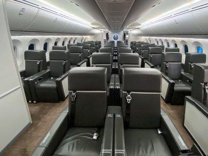 La aeronave fue adaptada para los usos del presidente Peña Nieto (Foto: Gobierno de México)