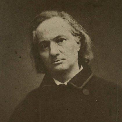 Baudelaire, meses antes de su muerte (Foto: Wikipedia)