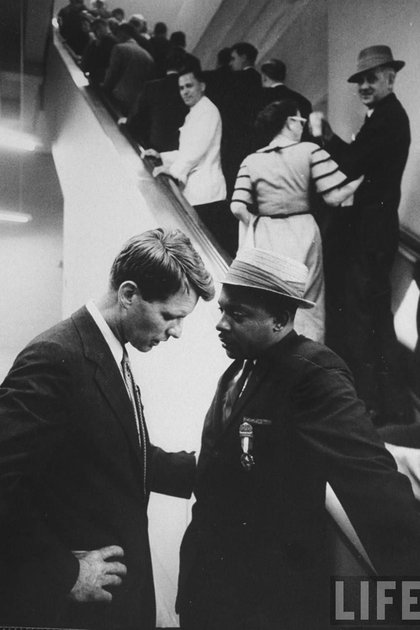 Junto a Martin Luther King