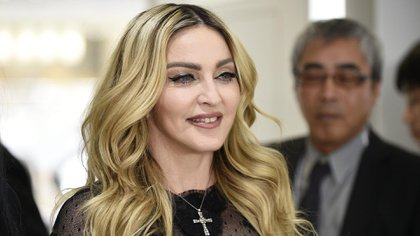 La súper estrella del pop Madonna