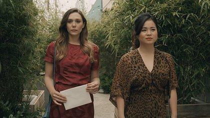 "Elizabeth Olsen en ""sorry for your loss"""