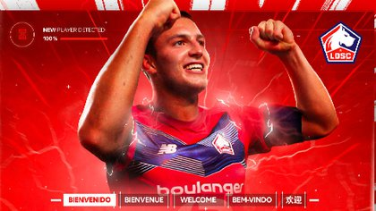 El mexicano Eugenio Pizzuto es nuevo jugador del Lille
