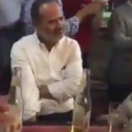 En el video, de noviembre de 2017, Gustavo Madero aparece festejando un cumpleaños (Foto: Captura de pantalla)