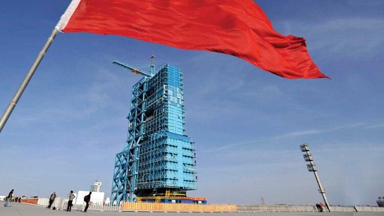 Base Espacial de Jiuquan, ubicada en el noroeste de China. Foto: Archivo DEF.