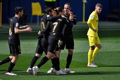 Barcelona dio vuelta el resultado tras comenzar perdiendo 1-0 a los 26 minutos (Reuters)