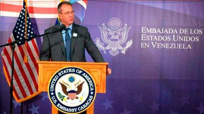 L'ambassadeur américain du Venezuela, James Story