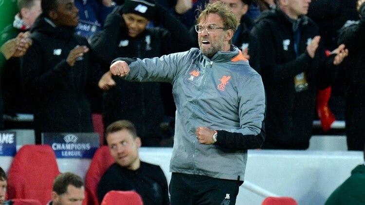 Jürgen Kloppha convertido al Liverpool FC en uno de los mejores equipos de Europa (EFE)