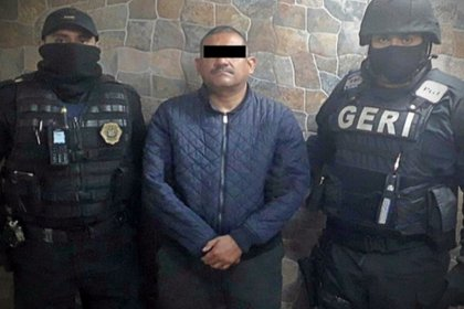 El Viejon es integrante del CJNG (Foto: Secretaria de Seguridad Ciudadana)