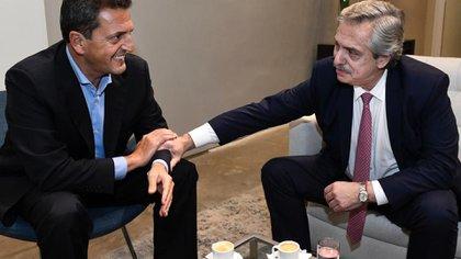 Sergio Massa y Alberto Fernández tomaron el café que tenían pendiente