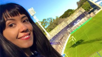 Gisele Ferreyra, la periodista platense que se encontró en una boleta del Frente Patriota
