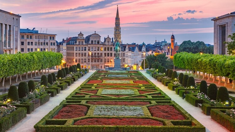 El delicioso chocolate belga y la impresionante arquitectura hacen que Bruselas sea demasiado romántica