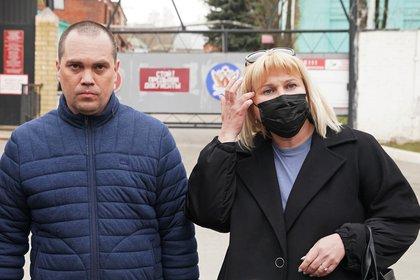 Olga Migilova e Vadim Kopzev, Abogados de Navalny (Reuters / Tatiana Makieva)