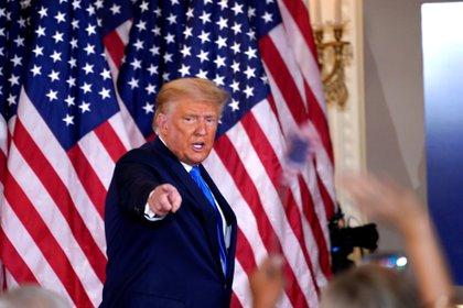 El presidente de EEUU, Donald Trump, sigue sin reconocer la victoria de Joe Biden (EFE/EPA/CHRIS KLEPONIS)