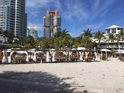 Pocos turistas en Miami, uno de los destinos más elegidos por los argentinos